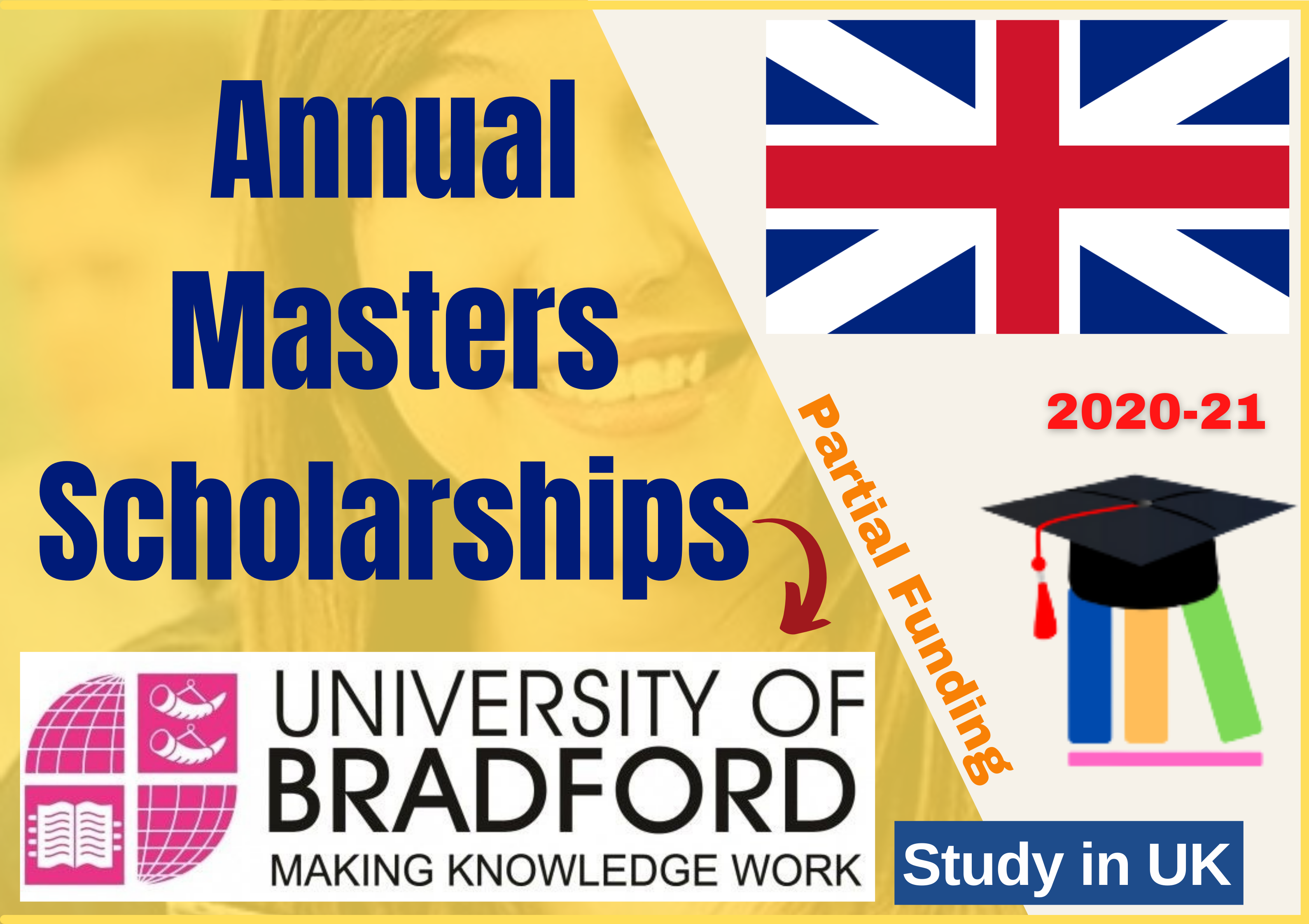 Annual Masters Scholarships Opens by British Government at Bradford University UK
