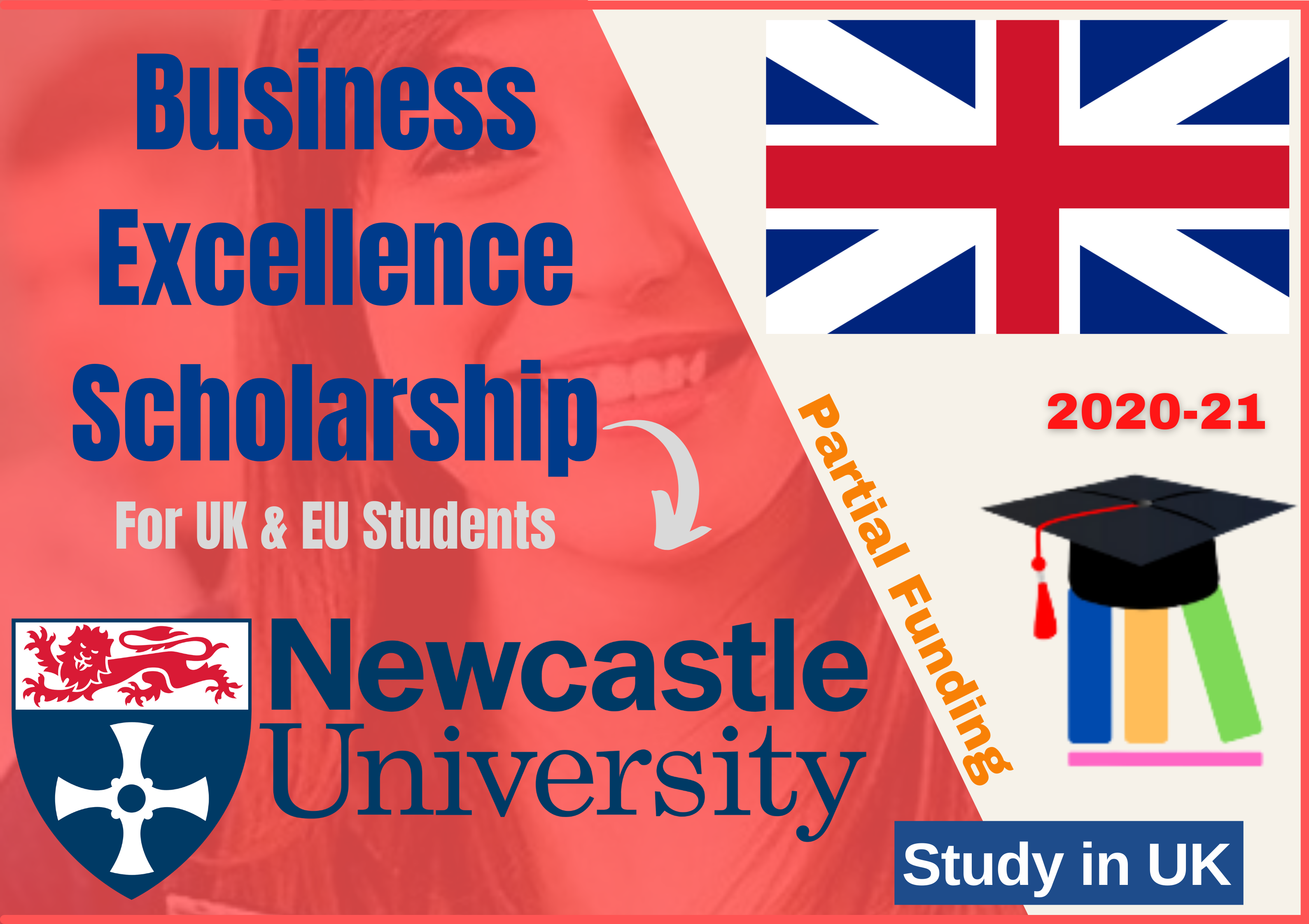 Business Excellence Scholarship 2020-21 at Newcastle University UK