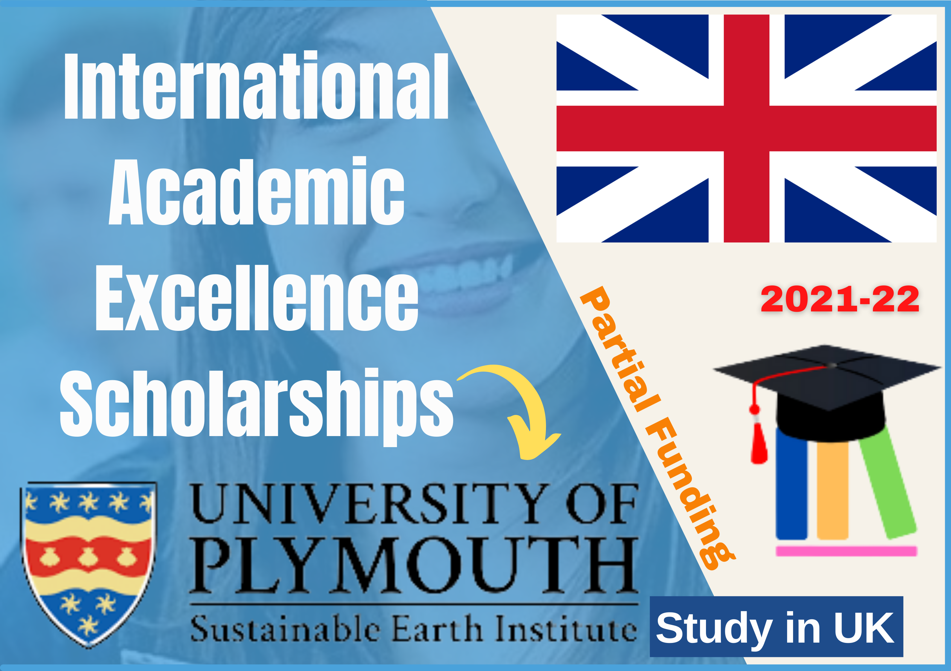 University of Plymouth UK Opens International Academic Excellence Scholarships – 2021-22