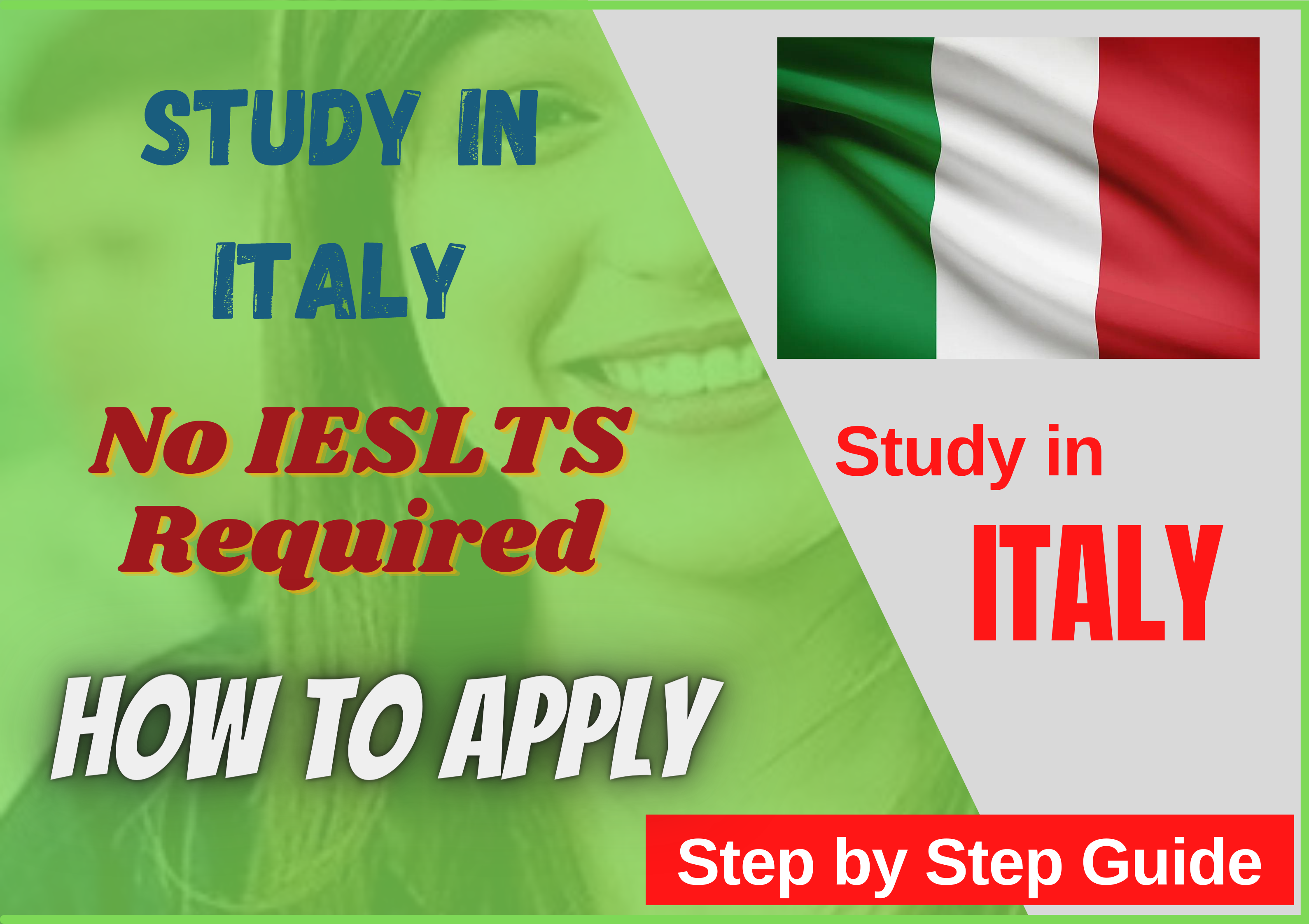 Chance to Study in Italy without IELTS | Complete How To Guide