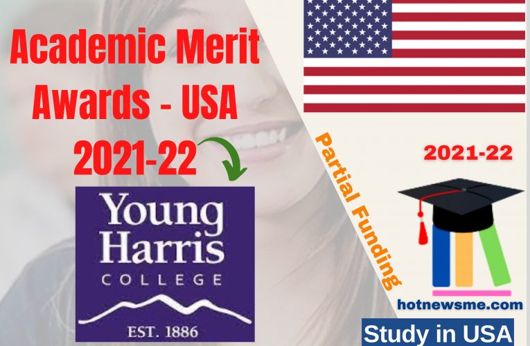 Young Harris College USA Opens Academic Merit Awards – 2021-22